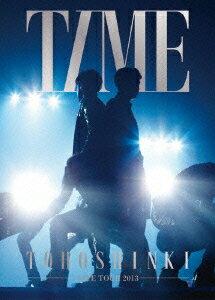 【送料無料】東方神起 LIVE TOUR 2013 ~TIME~ 【初回生産限定】 [ 東方神起 ]