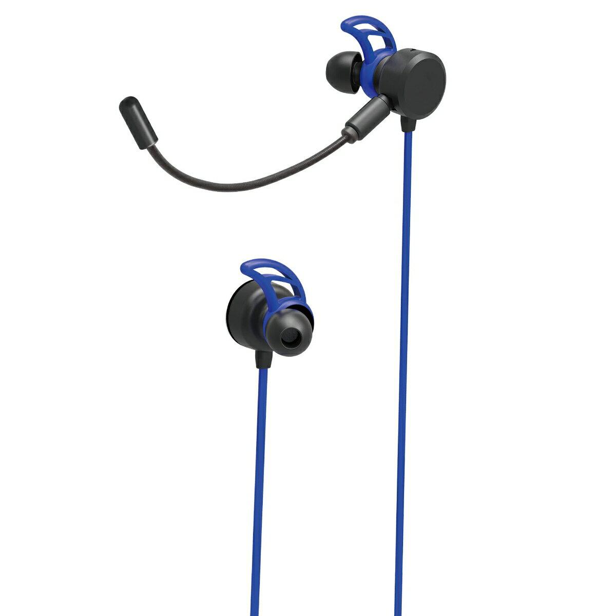 ゲーミングヘッドセット インイヤー(PS4) 【ブルー】