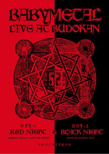 邦楽, ロック・ポップス LIVE AT BUDOKAN RED NIGHT BLACK NIGHT APOCALYPSE BABYMETAL