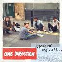 最新洋楽カラオケ人気曲  ONE DIRECTION ワン・ダイレクションの「STORY OF MY LIFE」を収録したCDのジャケット写真。