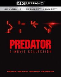 プレデター クアドリロジーBOX(4K ULTRA HD+3D+2Dブルーレイ/9枚組)【4K ULTRA HD】