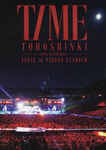 【送料無料】東方神起 LIVE TOUR 2013 ~TIME~ FINAL in NISSAN STADIUM [ 東方神起 ]