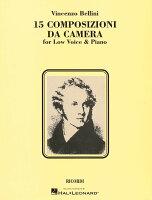 【輸入楽譜】ベッリーニ, Vincenzo: 歌曲集 (低声用)
