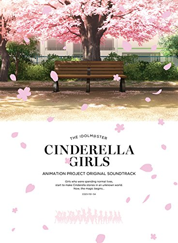THE IDOLM@STER MASTER CINDERELLA GIRLS ANIMATION PROJECT ORIGINAL SOUNDTRACK(Blu-ray Audio付)画像