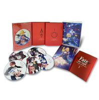 Fate/stay night [Unlimited Blade Works] Blu-ray Disc Box 1【完全生産限定版】【Blu-ray】