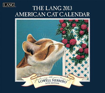 【送料無料】The Lang American Cat Calendar [ Lowell Herrero ]