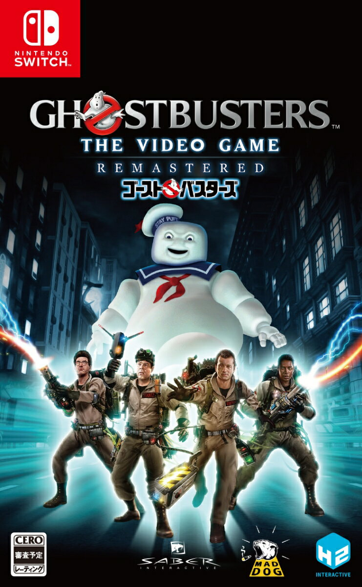 Ghostbusters: The Video Game Remastered Nintendo Switch版画像