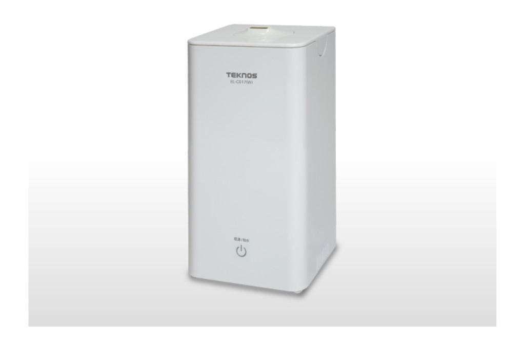 超音波加湿器1.0L ホワイト(W)