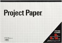 オキナ プロジェクトペーパー B4 10ミリ方眼罫 50枚 PPB45S