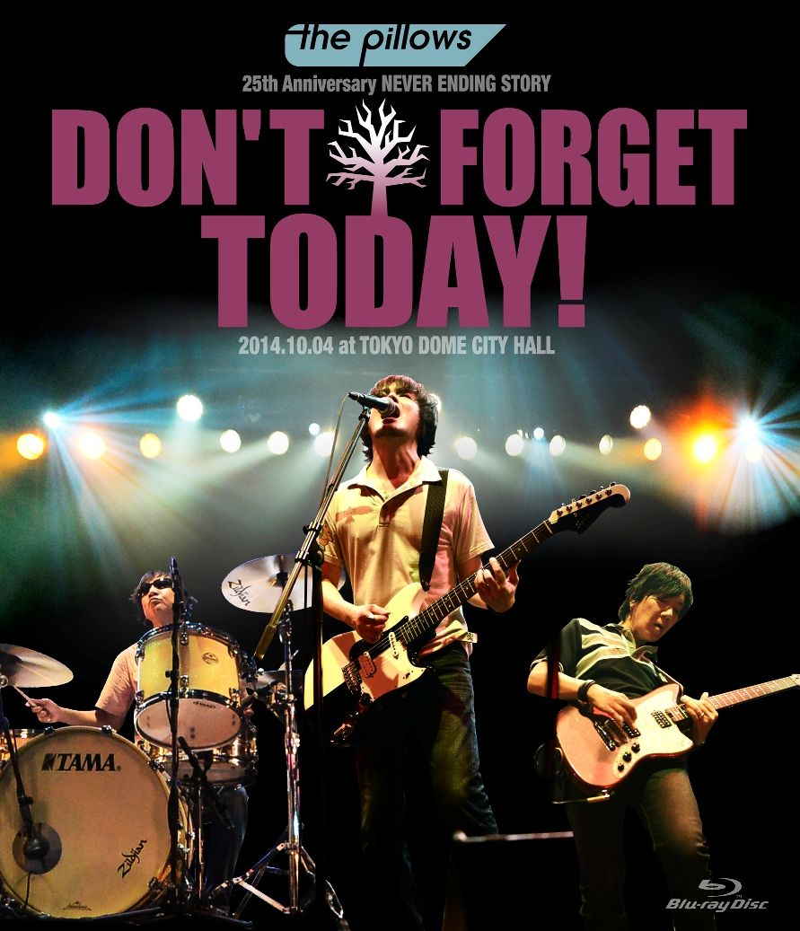 "the pillows 25th Anniversary NEVER ENDING STORY ""DON'T FORGET TODAY!"" 2014.10.04 at TOKYO DOME CITY【Blu-ray】画像"