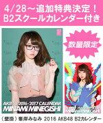 (壁掛) 峯岸みなみ 2016 AKB48 B2カレンダー