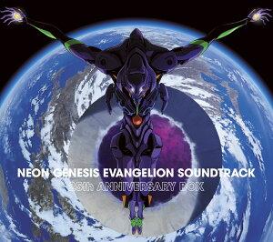 【楽天ブックス限定先着特典】NEON GENESIS EVANGELION SOUNDTRACK 25th ANNIVERSARY BOX (5CD) (ノート付き)