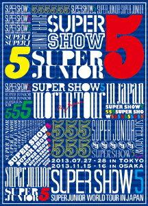 邦楽, ロック・ポップス SUPER JUNIOR WORLD TOUR SUPER SHOW5 LIVE in JAPAN SUPER JUNIOR