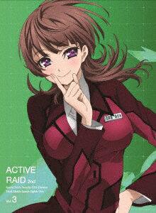 「アクティヴレイド -機動強襲室第八係ー 2nd」ディレクターズカット版 Vol.3【Blu-ray】画像