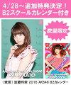 (壁掛) 加藤玲奈 2016 AKB48 B2カレンダー