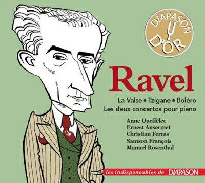【輸入盤】Piano Concertos, Tzigane, La Valse, Bolero: Queffelec Francois(P) Ferras(Vn) Ansermet / Rosenthal / Etc (Ltd)画像