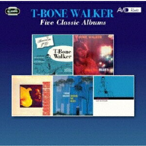 FIVE CLASSIC ALBUMS (CLASSICS IN JAZZ / SINGS THE BLUES / T-BONE BLUES / SINGING THE BLUES / I GET画像
