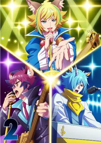 アニメ, キッズアニメ TVSHOW BY ROCK!!STARS!!Blu-ray 2Blu-ray