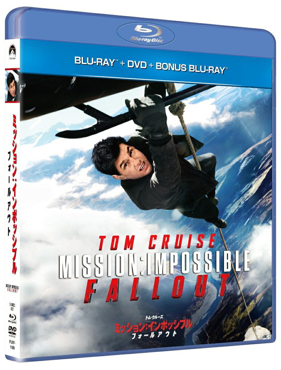ミッション:インポッシブル/フォールアウト ブルーレイ+DVDセット(初回限定生産)(ボーナスブルーレイ付き)【Blu-ray】