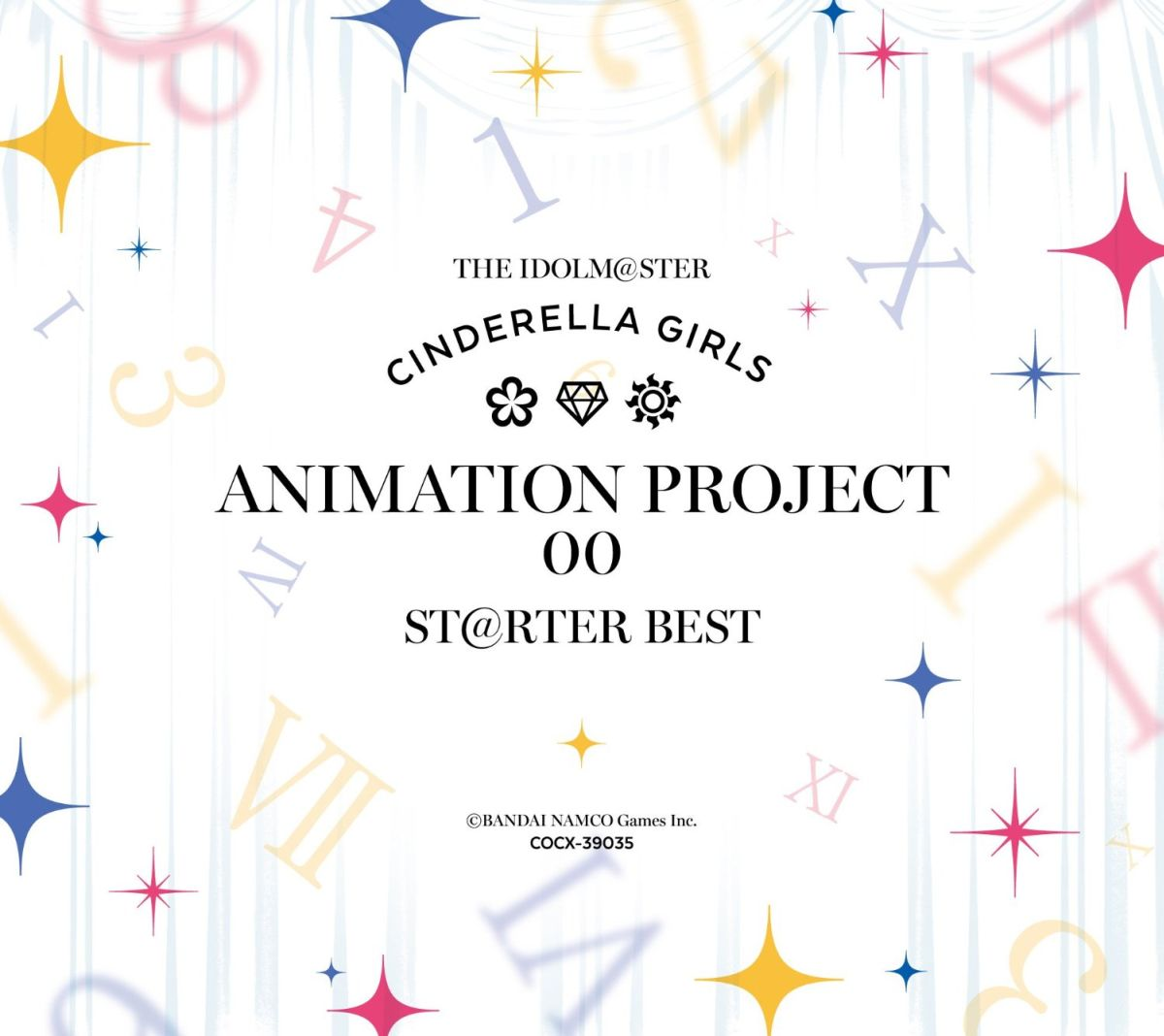 THE IDOLM@STER CINDERELLA GIRLS ANIMATION PROJECT 00 ST@RTER BEST画像