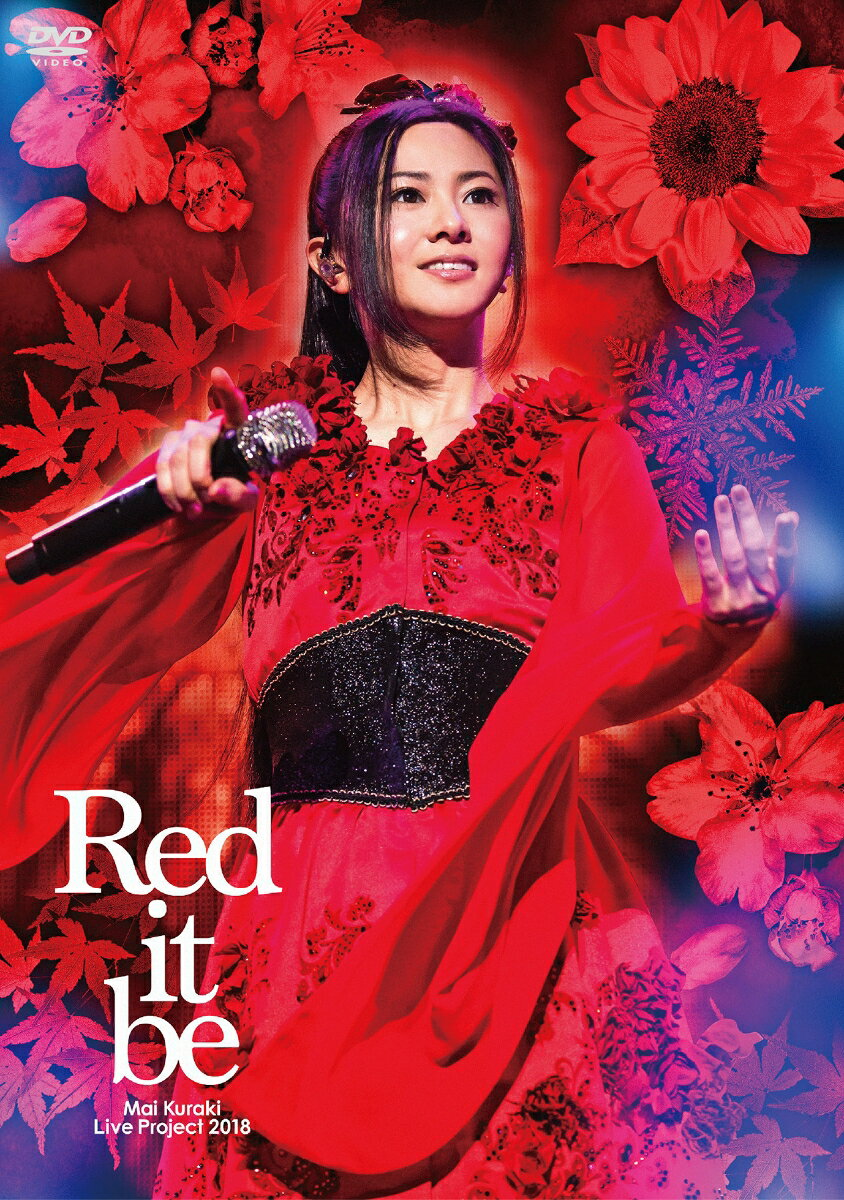 "Mai Kuraki Live Project 2018 ""Red it be 〜君想ふ 春夏秋冬〜""【Blu-ray】"