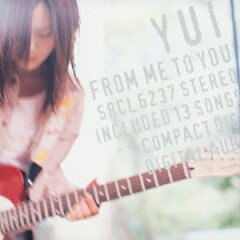 【送料無料】FROM ME TO YOU [ YUI ]