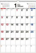 2020年 書き込み式シンプルカレンダー[B3タテ]