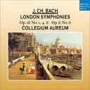 【輸入盤】ロンドン交響曲集コレギウム・アウレウム [ バッハ、ヨハン・クリスティアン(1735-1782) ]