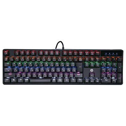 【楽天スーパーSALE期間限定価格】HP GK320 [青軸キースイッチ採用 日本語配列 メカニカルキーボード]