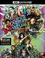 スーサイド・スクワッド エクステンデッド・エディション<4K ULTRA HD&3D&2Dブルーレイセット>(初回仕様)(4枚組/デジタルコピー付き)【4K ULTRA HD】