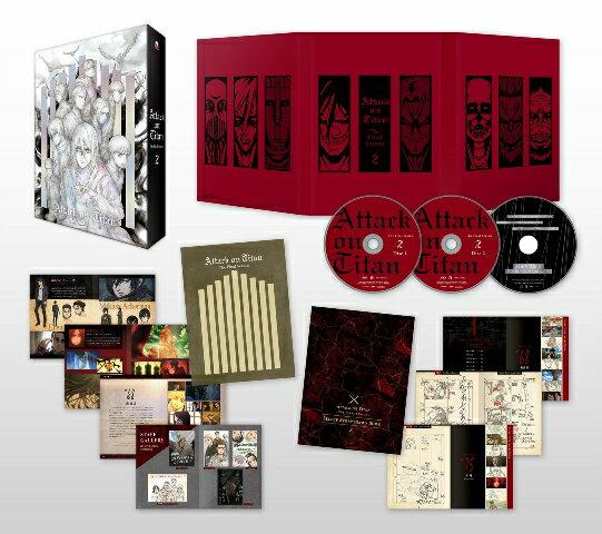 「進撃の巨人」The Final Season 2【初回限定 DVD】