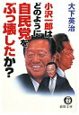 小沢一郎はどのように自民党をぶっ壊したか?