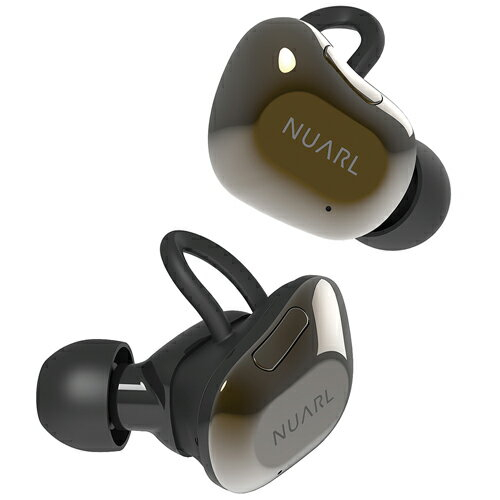NUARL NT01AX HDSS 完全ワイヤレス ステレオイヤホン (ブラックゴールド)