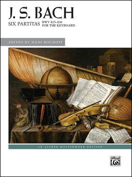 【輸入楽譜】バッハ, Johann Sebastian: パルティータ 全曲 BWV 825-830/ビショッフ編 [ バッハ, Johann Sebastian ]