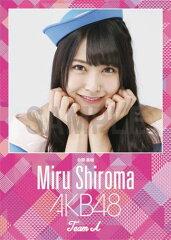(卓上) 白間美瑠 2016 AKB48 カレンダー【生写真(2種類のうち1種をランダム封入)…