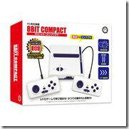 【FC用互換機】 8ビットコンパクト (8BIT COMPACT)の画像