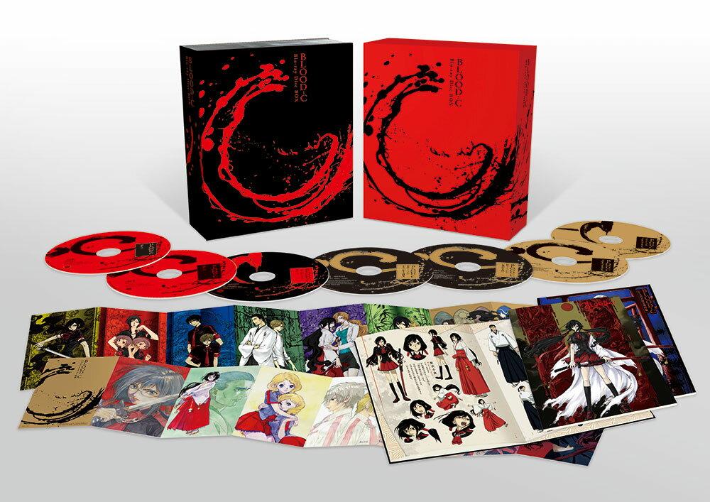 BLOOD-C Blu-ray Disc BOX(完全生産限定版)【Blu-ray】画像