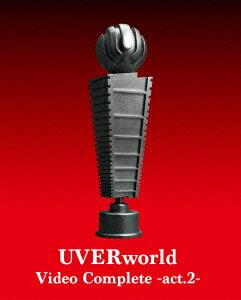 UVERworld Video Complete-act.2-【初回仕様限定盤】【Blu-ray】
