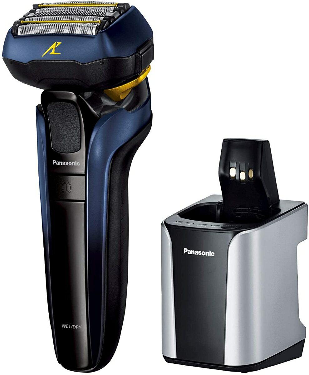 Panasonic メンズシェーバー ラムダッシュ (青) 5枚刃 ES-LV7T-A