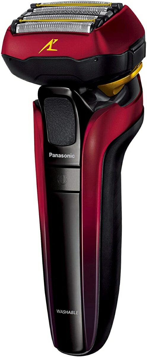 Panasonic メンズシェーバー ラムダッシュ (赤) 5枚刃