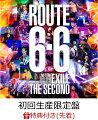 """【先着特典】EXILE THE SECOND LIVE TOUR 2017-2018 """"ROUTE 6・6""""(初回生産限定盤)(オリジナルポスター付き)"""