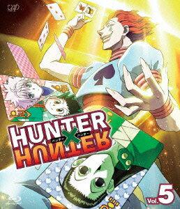 HUNTER×HUNTER ハンターハンター Vol.5【Blu-ray】画像