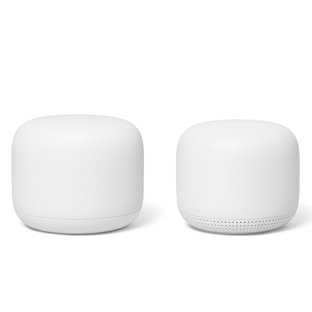 Google Nest Wifi ルーターと拡張ポイントパック