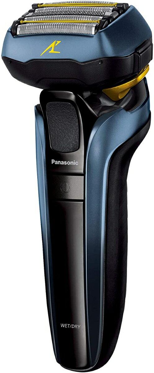 Panasonic メンズシェーバー ラムダッシュ (青) 5枚刃 ES-LV5T-A