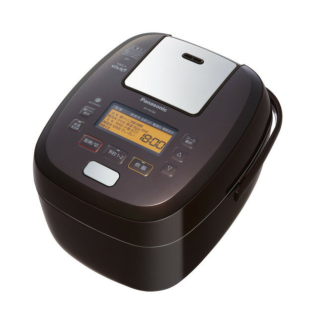 Panasonic 可変圧力IHジャー炊飯器 1.0L (ブラウン) SR-PA108-T