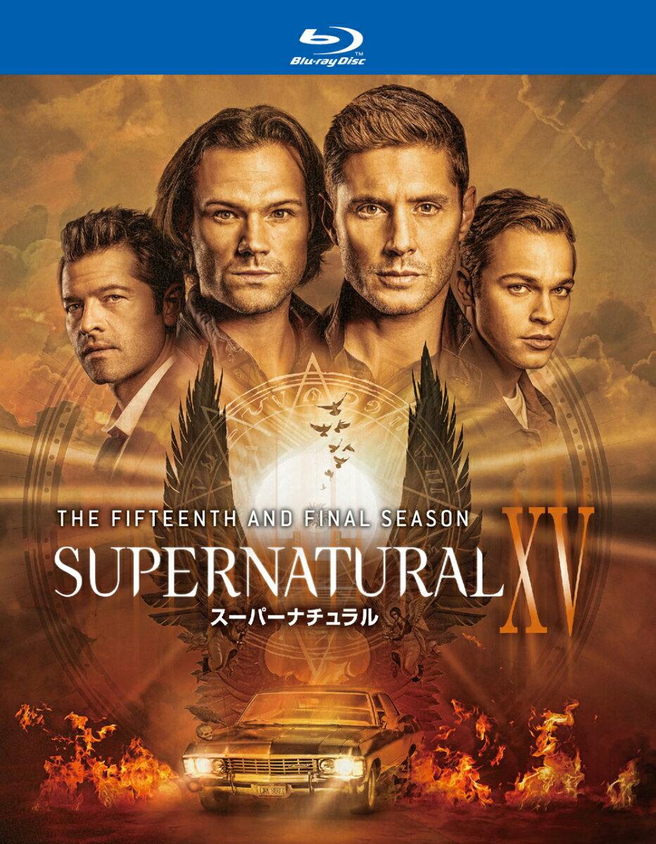 SUPERNATURAL XV <ファイナル・シーズン>ブルーレイ コンプリート・ボックス(4枚組)【Blu-ray】
