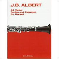 【輸入楽譜】アルバート, J. B.: 24のスケールと練習曲
