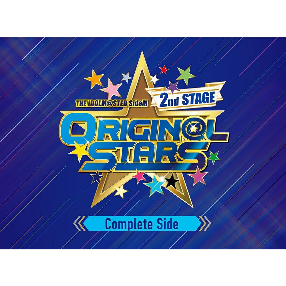 THE IDOLM@STER SideM 2nd STAGE 〜ORIGIN@L STARS〜 Live Blu-ray【Complete Side】【Blu-ray】画像