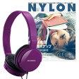 NYLON JAPAN PREMIUM SET VOL.3/ZUMREED ヘッドフォン付き(ヴァイオレット)