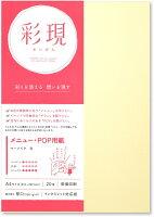 PCM竹尾 プリンタ用紙 彩現 メニュー・POP用 A4 マーメイド 白 1742124